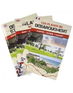 Carte - Guide Les plages du débarquement