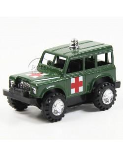 Jeep, Ambulance, Friction