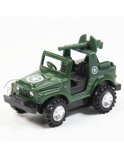Jeep with gun, Friction