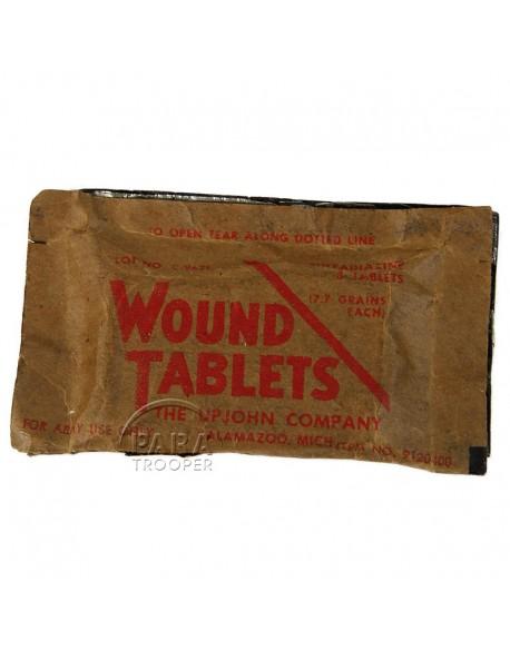 Paquet de sulfadiazine, UPJOHN