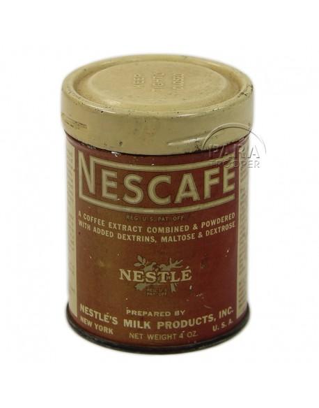 Boite de ration Nescafé, 10-in-1