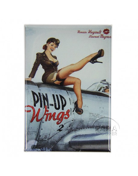 Magnet, Pin-Up, Wings
