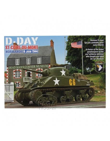 Post card, DMC, Tank