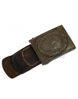 Buckle, Belt, Luftwaffe, Green, Normandy