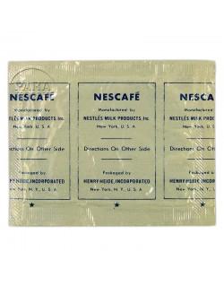 Sachet de café soluble, Nescafé