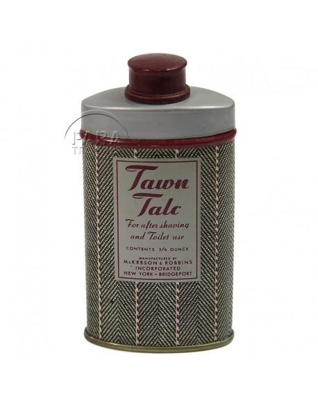 Talc powder, Tawn