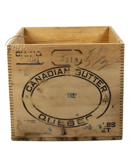 Box, Ration, Canadian butter