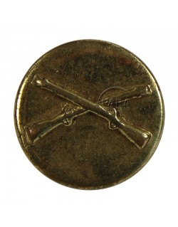 Disk, Collar, Infantry, stamped