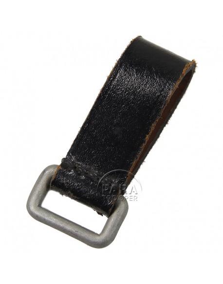 Loop, leather belt, German