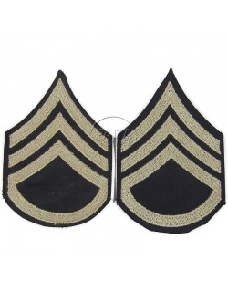 Grades en tissu de Staff Sergeant
