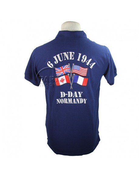 Polo, bleu, D-Day Normandy, 6 June 1944