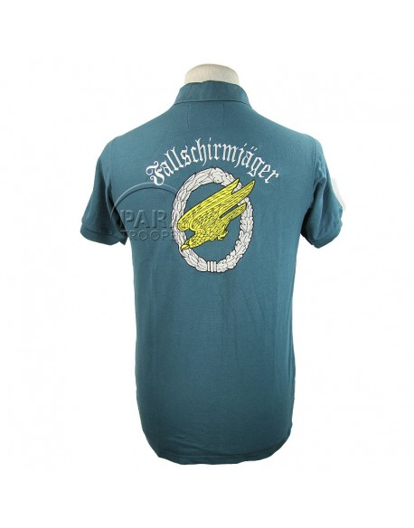 Polo bleu LW, Fallschirmjäger