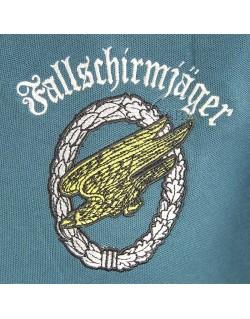 Polo bleu LW, Fallschirmjager