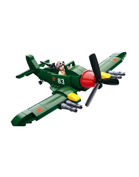 Allied fighter plane lego