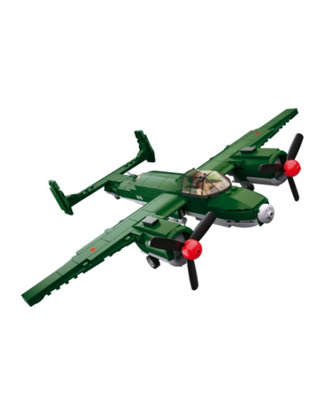 Allied bomber plane lego