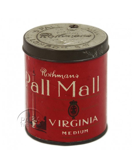 Box, British cigarettes, Pall Mall
