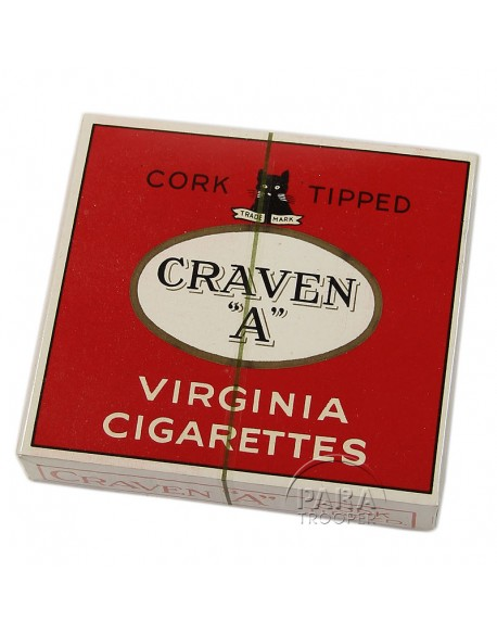 Pack, British cigarettes, Craven A