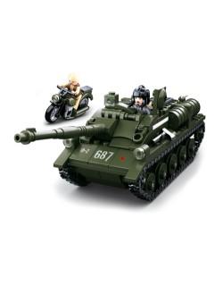 Char et moto, Lego