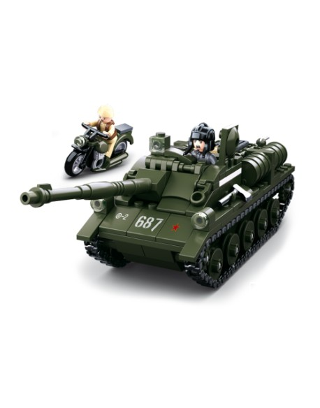 Tank and Motorcycle, lego