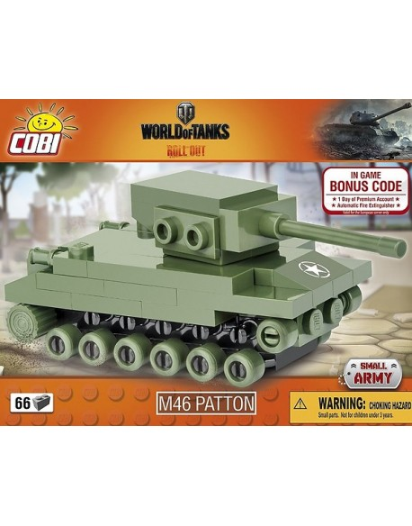 M46 Patton lego tank