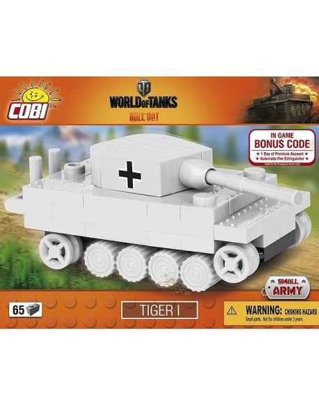 Tiger I lego tank