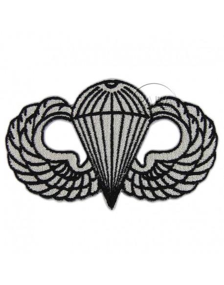 Insigne, brevet de parachutiste, tissu