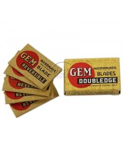 Lames de rasoir US GEM, Doubledge