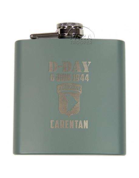 Flask, OD, 101st Airborne, Carentan