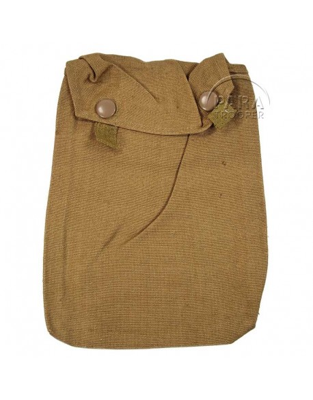 Anti-gas cape pouch, Sand color