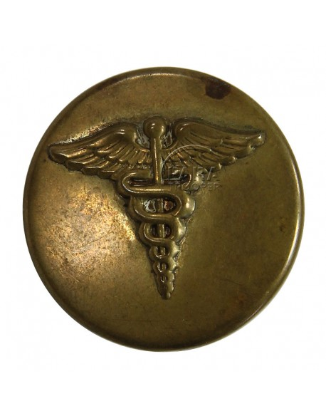 Disk, Collar, Medical, stamped