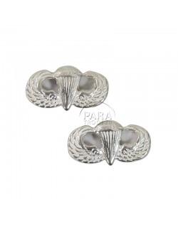 Boucles d'oreilles en argent, US Airborne