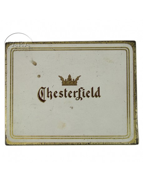 Cigarette tin, Chesterfield