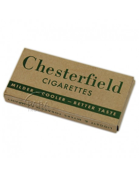 Cigarettes, Chesterfield, from K ration