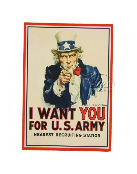 Carte postale, I want you