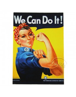 Postcard, We can do it!