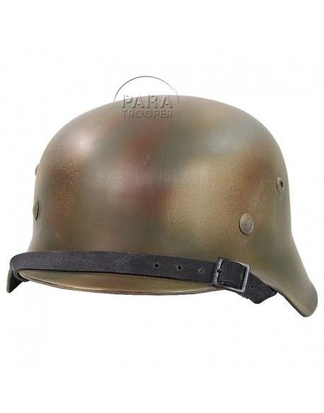 Helmet, M40, Aged and camo