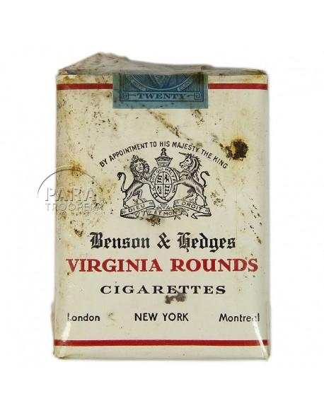 Paquet de cigarettes Virginia Rounds, 1940