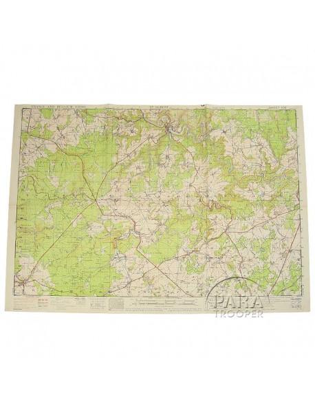 Carte de St Hubert (Belgique), 101st ABN, 1943