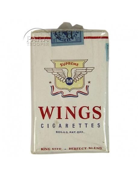 Cigarettes Wings, Pack
