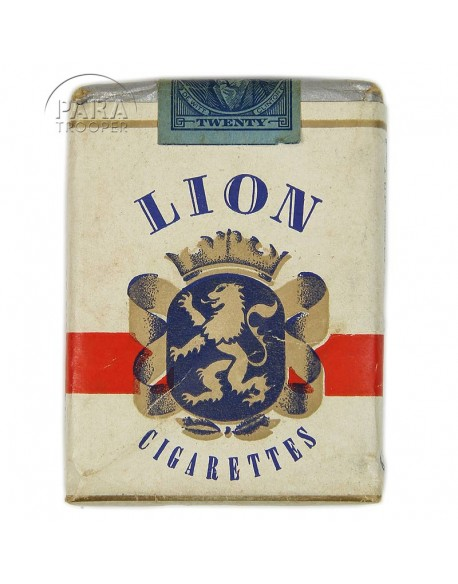 Cigarettes Lion, Pack