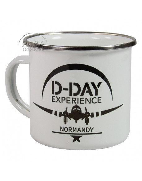 Cup, Enameled metal, 101st AB, D-Day Experience