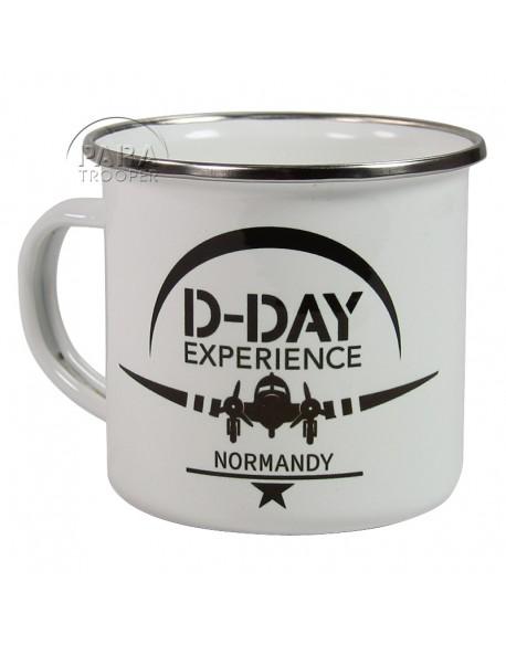 Quart émaillé, 101e AB, D-Day Experience