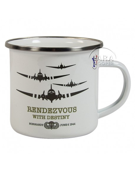 Cup, Enameled metal, Rendezvous with Destiny