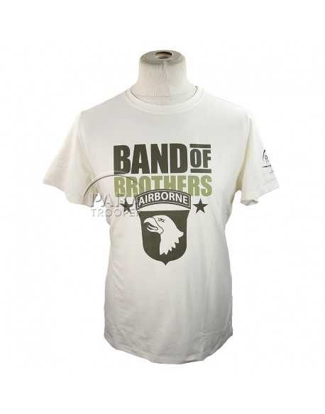T-shirt, Band of Brothers Currahee