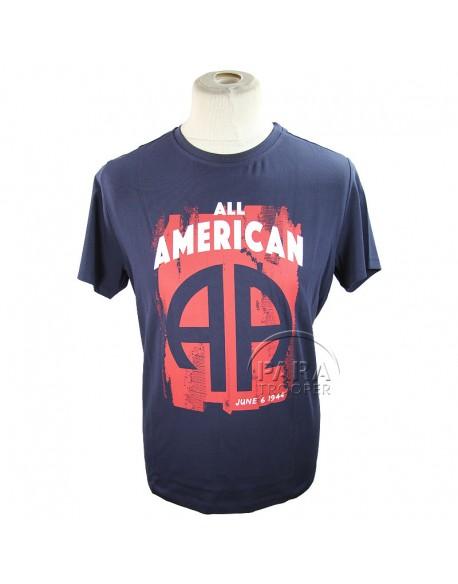 T-shirt, All American, 82e AB