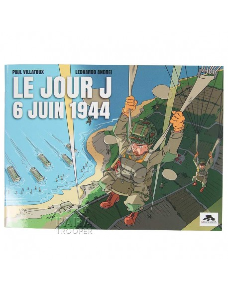 Booklet, D-Day Normandy Landings, Children