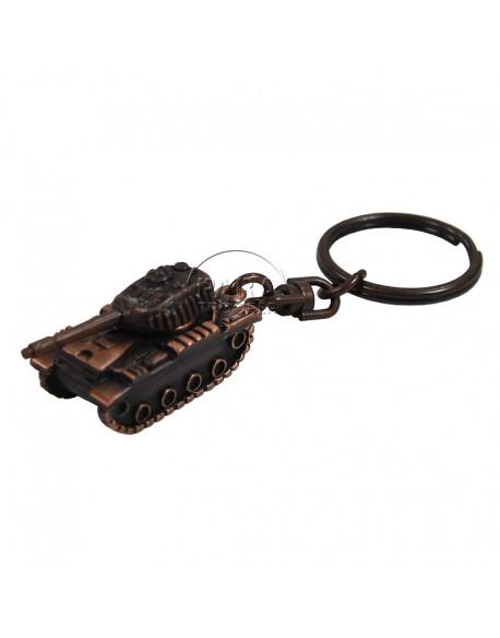 Porte-clés char, métal