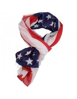 Foulard drapeau US, 75e Anniversaire du débarquement