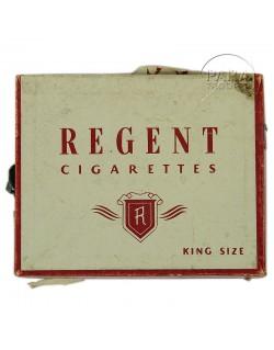 Boite de cigarettes The Regent, 1943