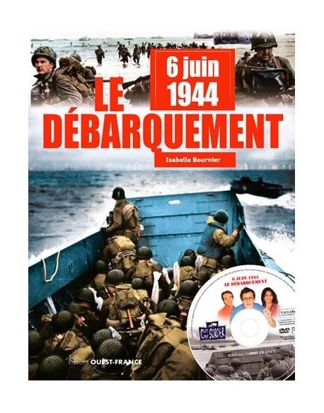 Livre jeunesse - 6.6.44 - Le débarquement, avec DVD